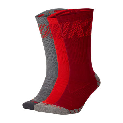 Nike Dry Everyday Max 3 Pair Crew Socks-Mens