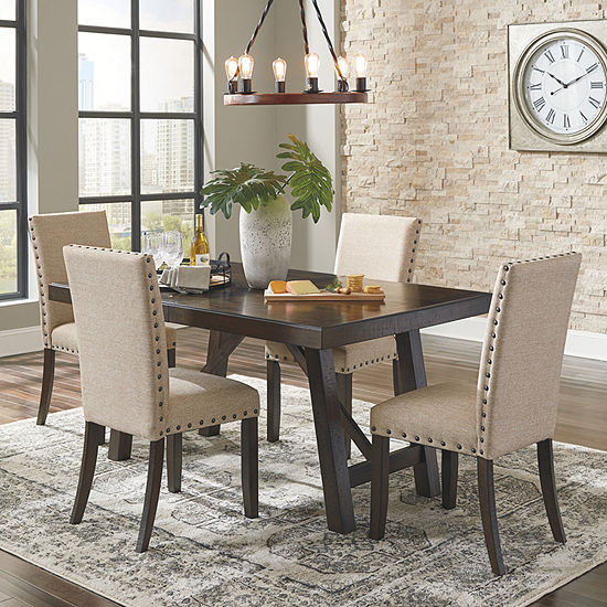 Signature Design by Ashley® Rokane 5-Piece Dining Set