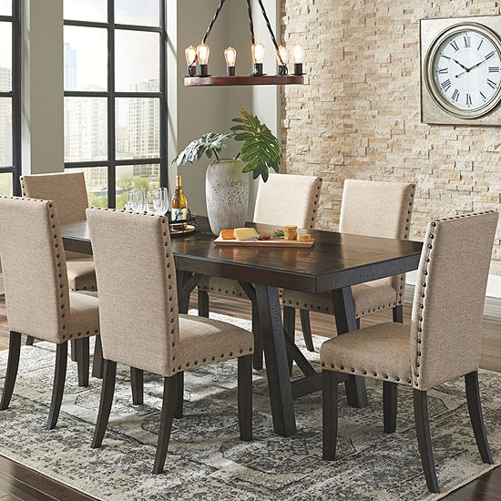 Signature Design by Ashley® Rokane 7-Piece Dining Set