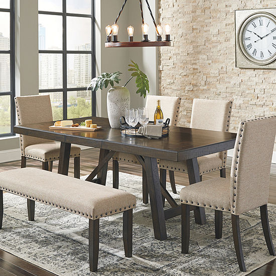 Signature Design by Ashley® Rokane 6Pc Dining