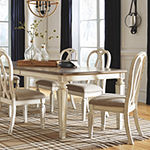 Signature Design by Ashley® Realyn 7-Piece Extension Dining Table