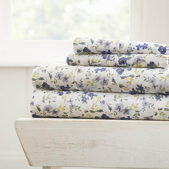 Casual Comfort™ Premium Ultra Soft Blossoms Sheet Set