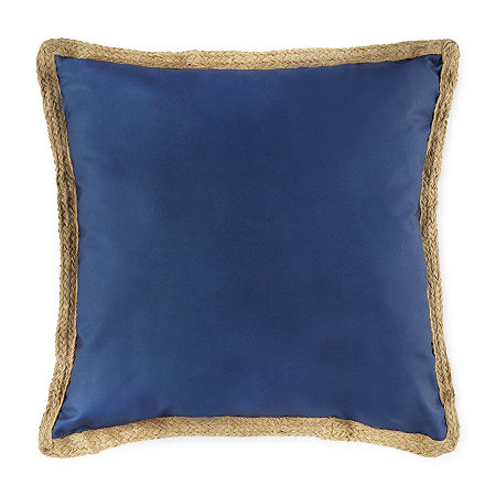 Linden Street Square Outdoor Pillow, One Size , Blue