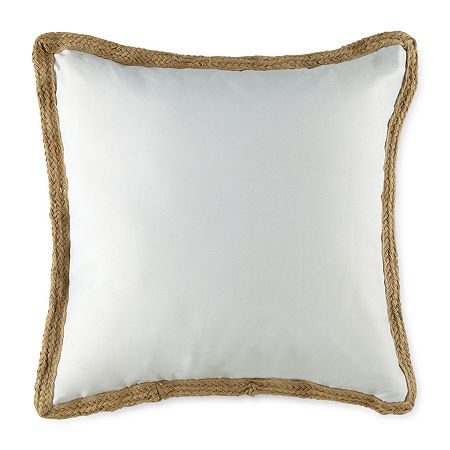 Linden Street Square Outdoor Pillow, One Size , Gray