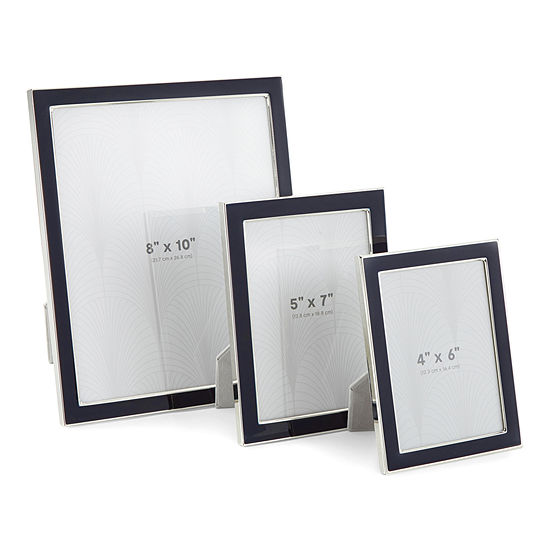 Liz Claiborne Indigo Enamel Tabletop Frame Collection