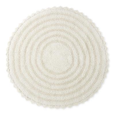 Macrame Round Bath Rug
