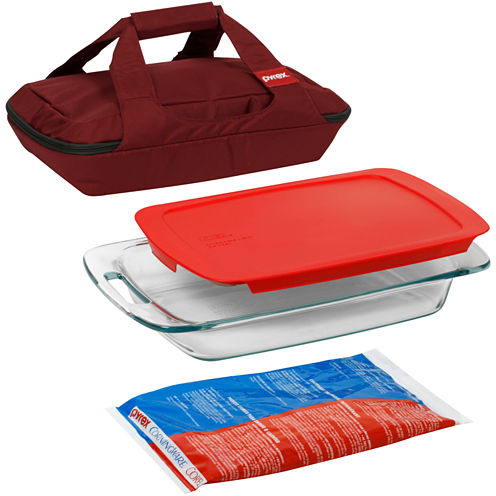 Pyrex® Portables 4-pc. Bakeware Set