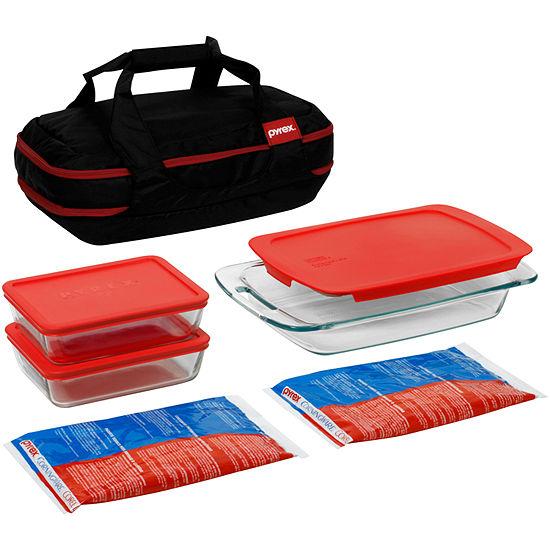 Pyrex® Portables® 9-pc. Double-Decker Set