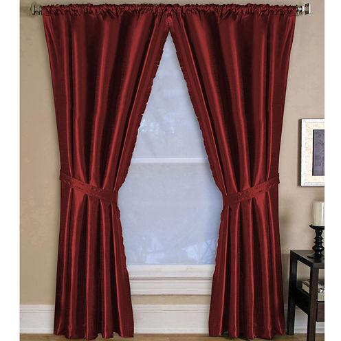 Versailles Rod-Pocket Curtain Panel