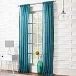 Lichtenberg Lola Sheer Rod-Pocket Single Curtain Panel