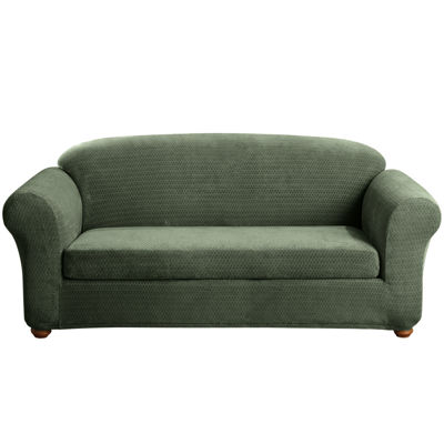 SURE FIT® Royal Diamond Stretch 2-pc. Sofa Slipcover