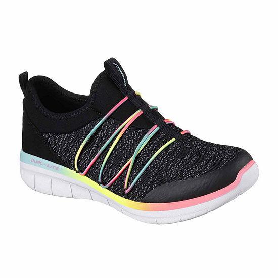 Skechers Simply Chic Womens Sneakers Slip-on