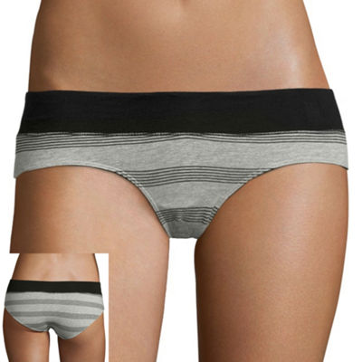 Flirtitude® 5 Pack Wide Waistband Hipster