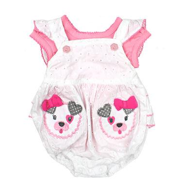 Nanette Baby Sleeveless Romper Girls
