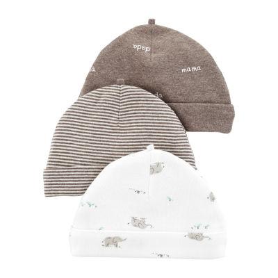 Carter's Unisex 3-pc. Baby Hat