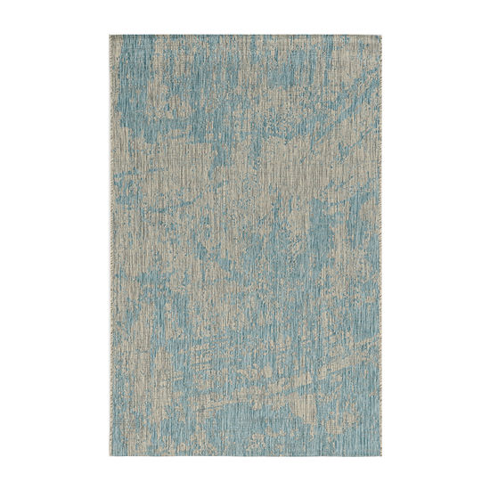 Kas Strokes Rectangular Indoor/Outdoor Rugs
