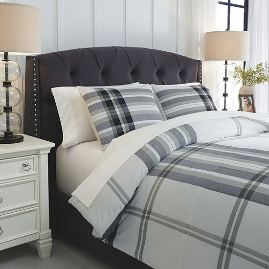 Signature Design by Ashley Stayner Coverlet Set 3-pc. Midweight Comforter Set
