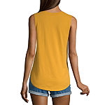 Juniors Unisex Adult Scoop Neck Sleeveless Tank Top