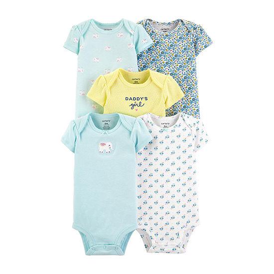 Carter's 5-pc. Bodysuit-Baby Girls