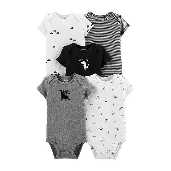 Carter's 5-pc. Bodysuit-Baby Boys
