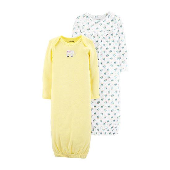 Carter's 2-pc. Girls Nightgown Long Sleeve Crew Neck
