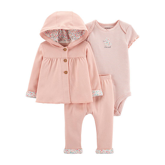 Carter's Baby Girls 3-pc. Baby Clothing Set
