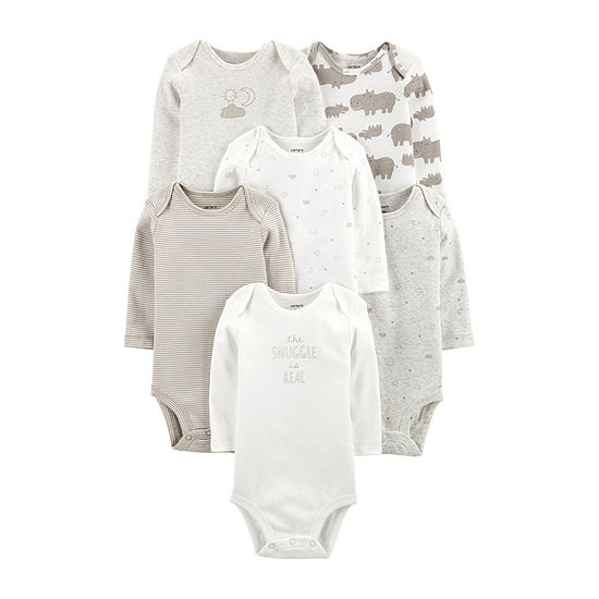 Carter's Unisex 6-pc. Bodysuit-Baby
