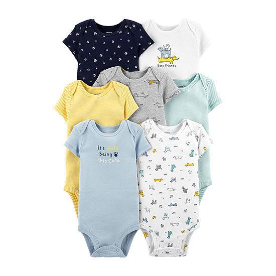 Carter's 7-Pk. Bodysuit Set-Baby Boys
