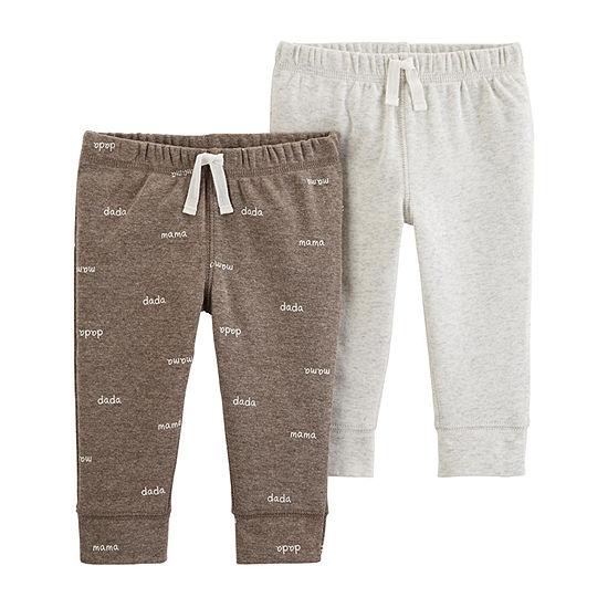 Carter's 2-Pk. Boys Pull-On Pants - Baby
