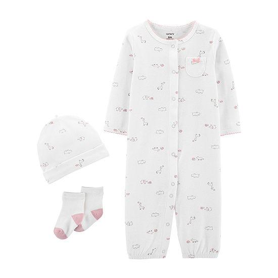 Carter's 3-Pc. Girls Baby Clothing Set-Baby