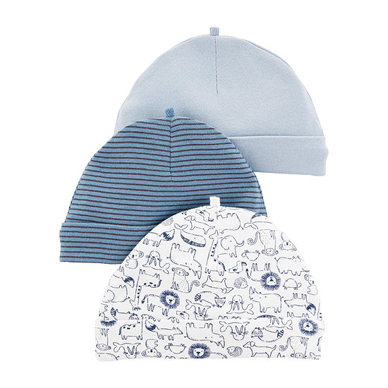 Carter's Baby Boys 3-pc. Baby Hat