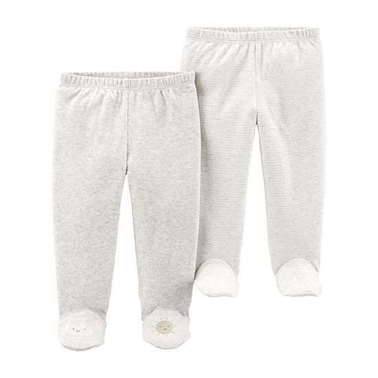 Carter's Unisex 2-pc. Pull-On Pants - Baby
