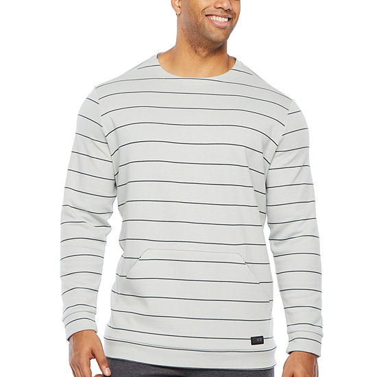 Msx By Michael Strahan Big and Tall Mens Crew Neck Long Sleeve Sweatshirt