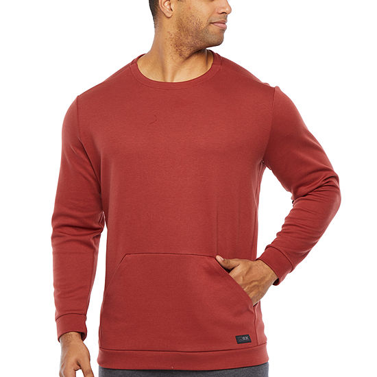 Msx By Michael Strahan Big and Tall Mens Crew Neck Long Sleeve Sweatshirt