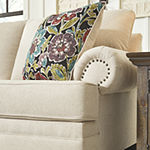 Signature Design by Ashley® Harrietson Pad-Arm Sleeper Sofa
