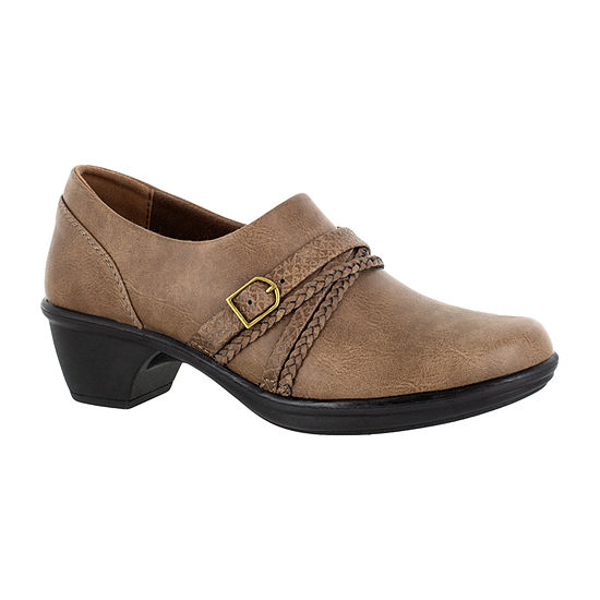 Easy Street Womens Titan Round Toe Slip-on Booties