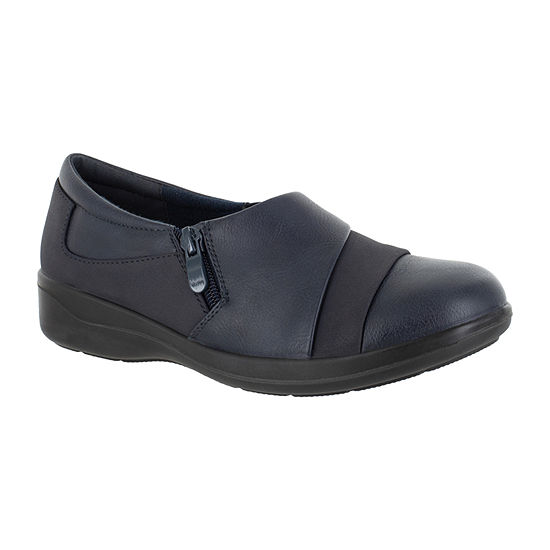 Easy Street Womens Gavyn Slip-On Shoe Round Toe