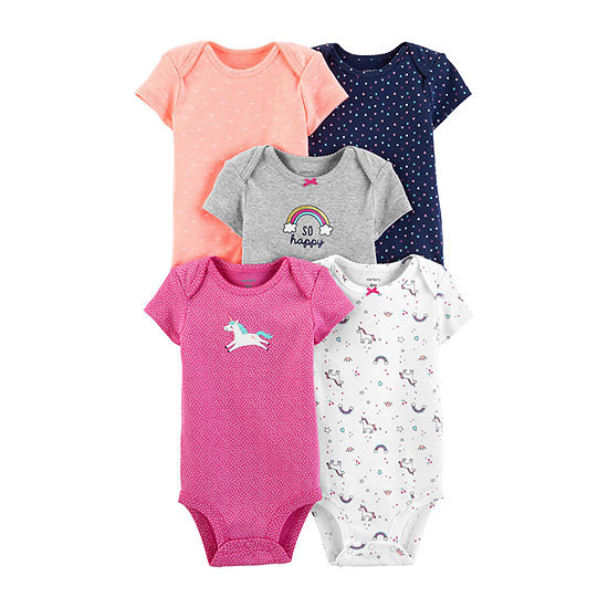 Carter's 5-Pk. Bodysuit Set-Baby Girls