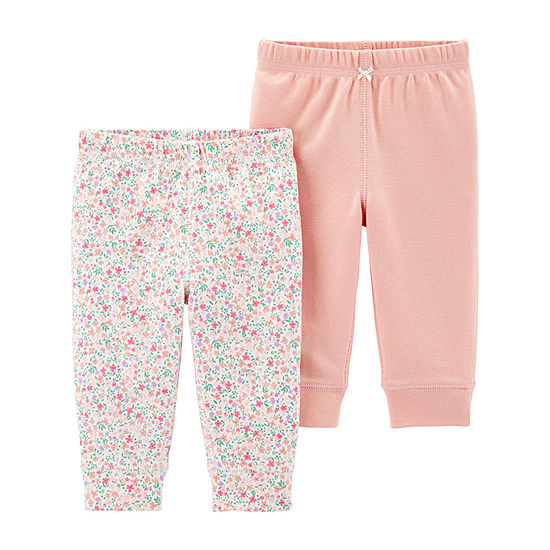 Carter's 2-Pk. Girls Pull-On Pants - Baby