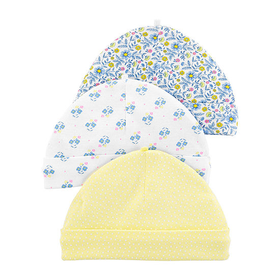 Carter's Girls 3-pc. Baby Hat-Baby