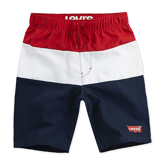 Levis Boys Logo Swim Shorts Big Kid