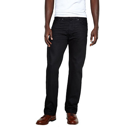 Levi's Mens 501 Regular Fit Straight Leg Jean, 32 29, Black