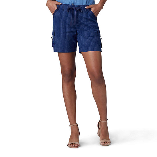 "Lee Womens Mid Rise 6"" Cargo Short"