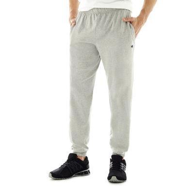 Champion Mens Closed-Bottom Jersey Pants