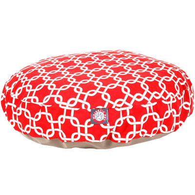 Majestic Pet Links Round Dog Bed