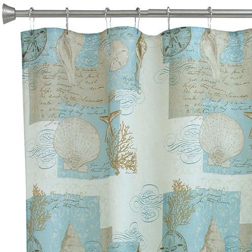 Bacova Coastal Moonlight Shower Curtain