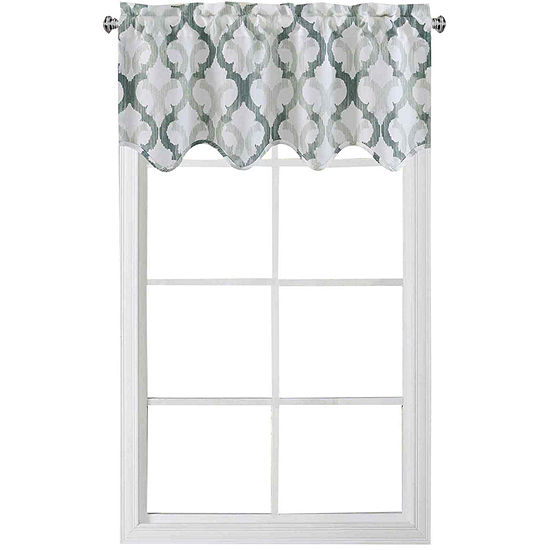 Addison Rod-Pocket Scalloped Valance