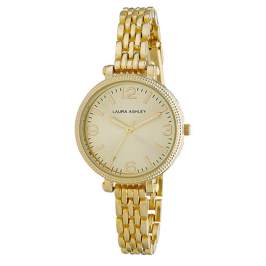Laura Ashley Ladies Gold Link Bracelet Watch La31006Yg