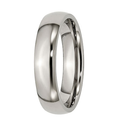 Mens 5Mm Titanium Wedding Band