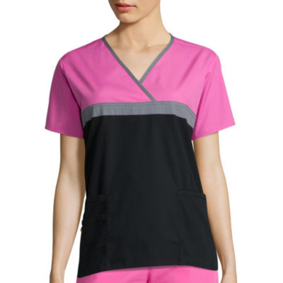 WonderWink® Origins Womens Short-Sleeve Tri-Charlie Top - Plus